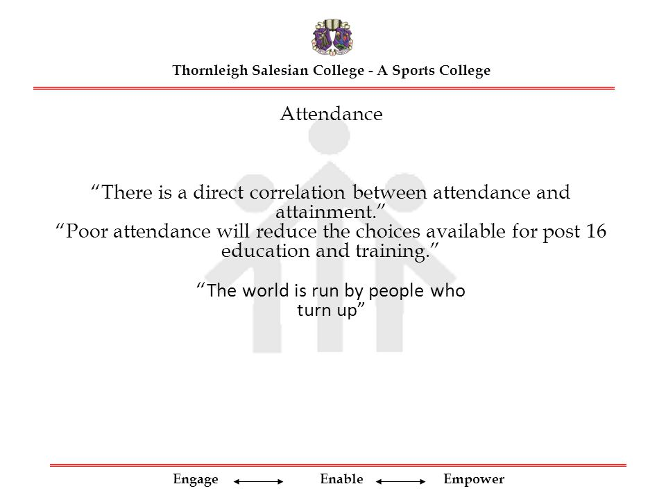 Engage Enable Empower Thornleigh Salesian College - A Sports College Began GCSE in Year 9 Linear Edexcel