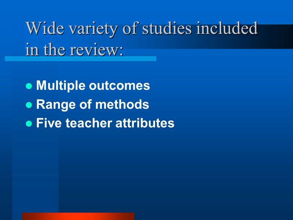 Q3: What is the range of policy responses to improve teacher resources.