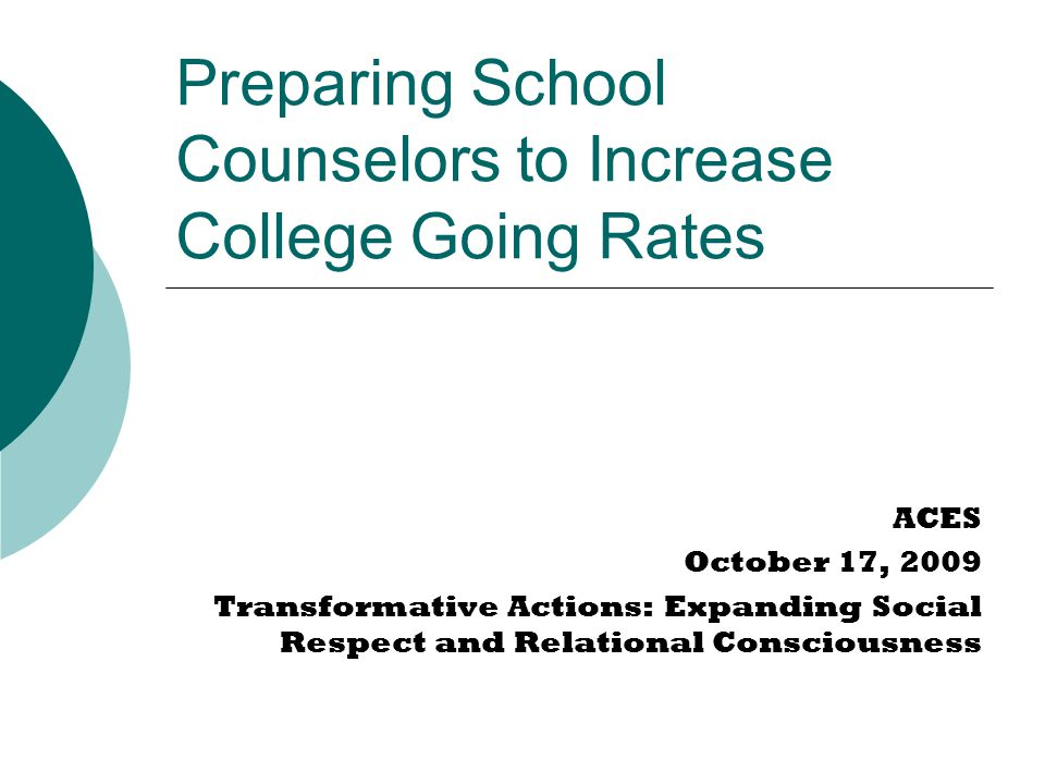 Start early  Is college mentioned in elementary or middle school.
