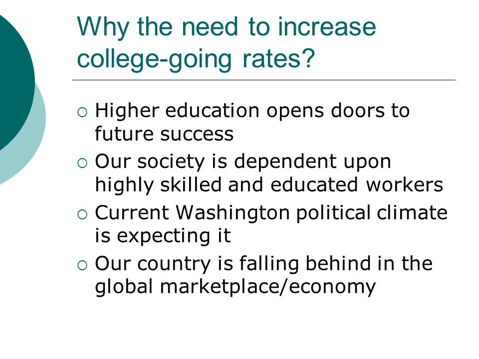 Why Is Graduate College Admission Counseling Coursework Needed.