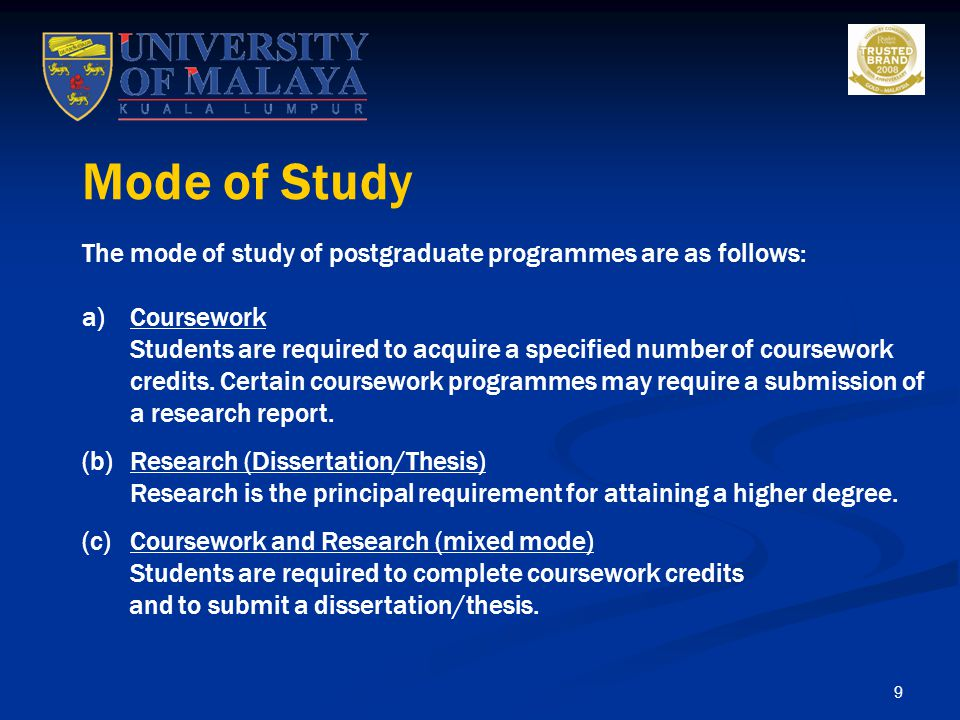 10 The duration of studies depends on the various programmes and the progress of the individual student.