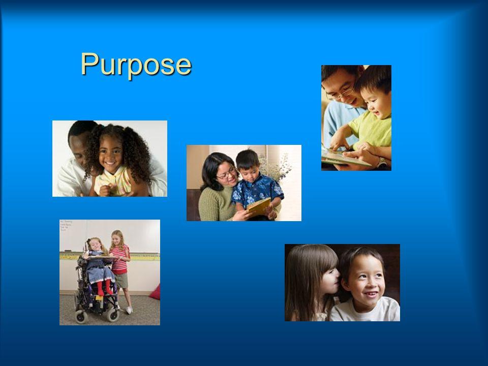 Purpose Purpose