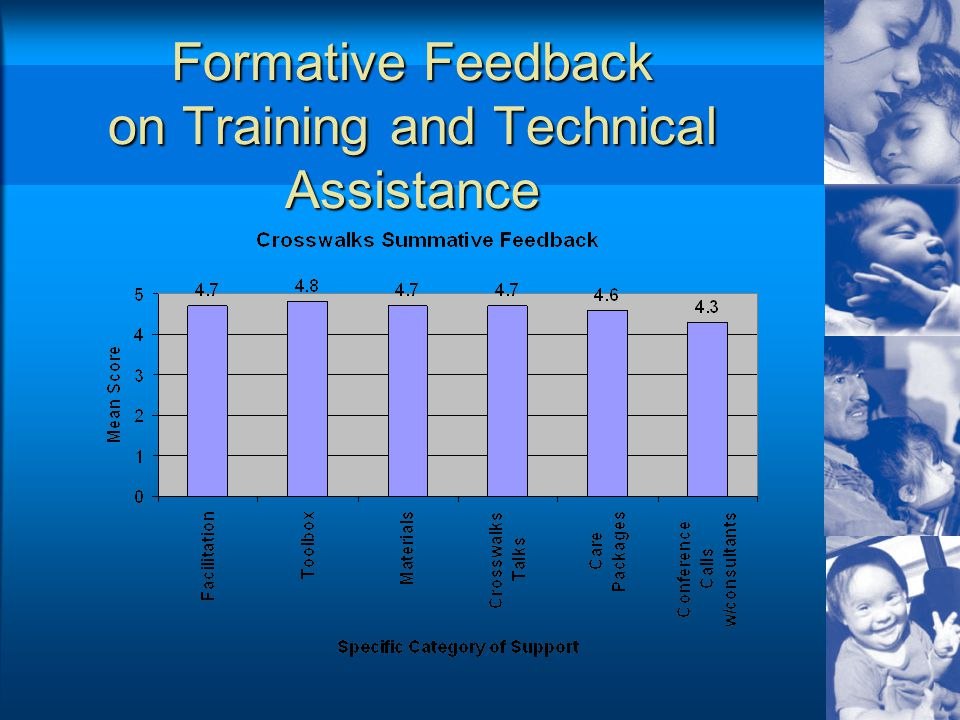 Formative Feedback on Training and Technical Assistance