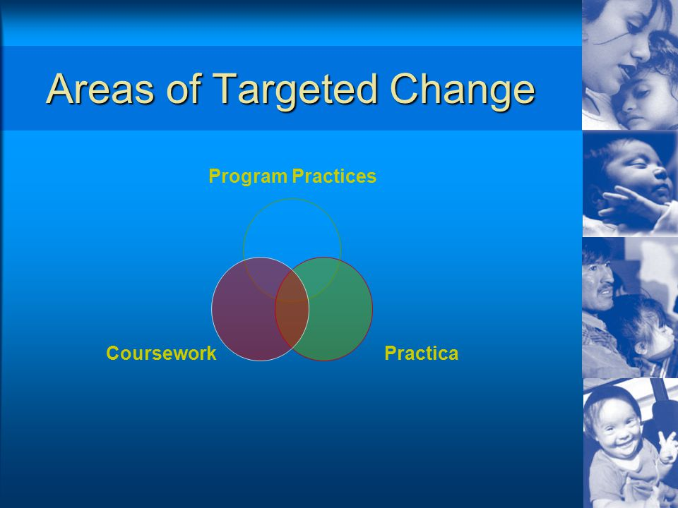 Areas of Targeted Change Program Practices PracticaCoursework