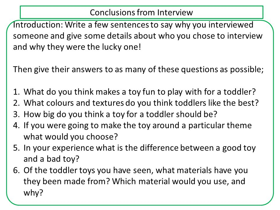 Response to a brief using Analysis of Research First of all stick the Final TOY Brief on the top of your sheet.Final TOY Brief Then you will need to write about what you have learnt from your different types of research (exam revision, product analyses, interview, materials practice projects) that will help you come up with a product that will successfully meet the brief.