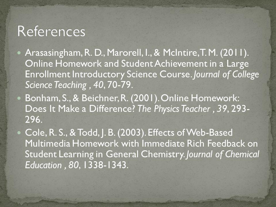 Arasasingham, R. D., Marorell, I., & McIntire, T.