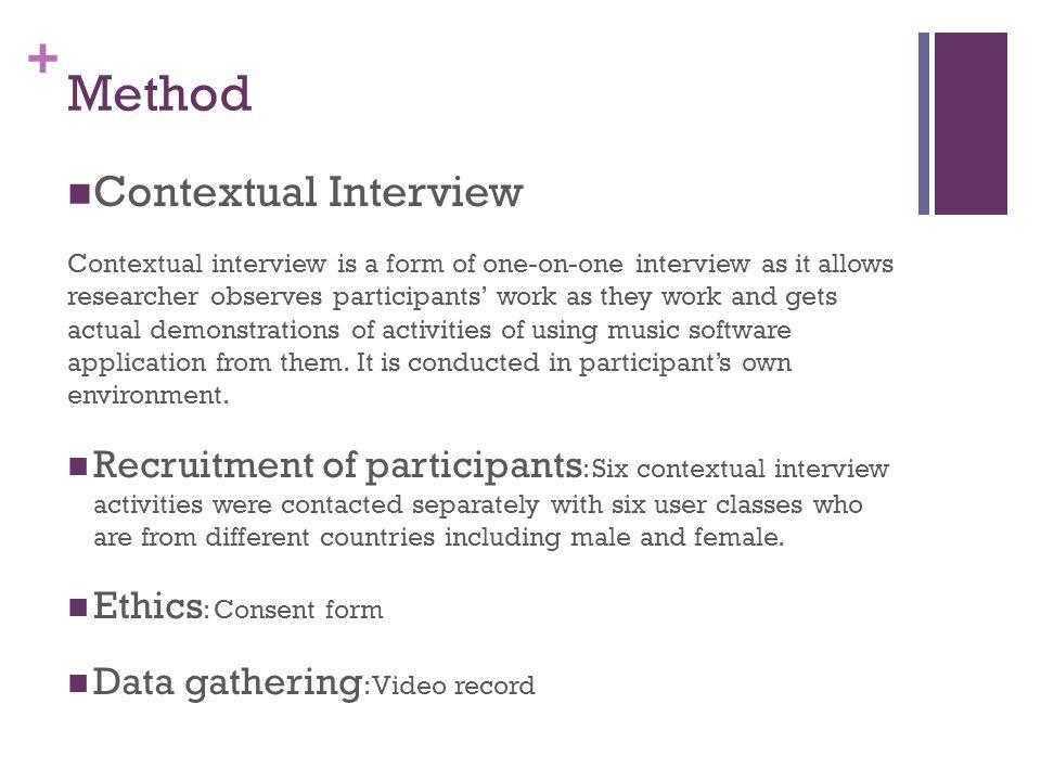+ Task analysis - Social Process