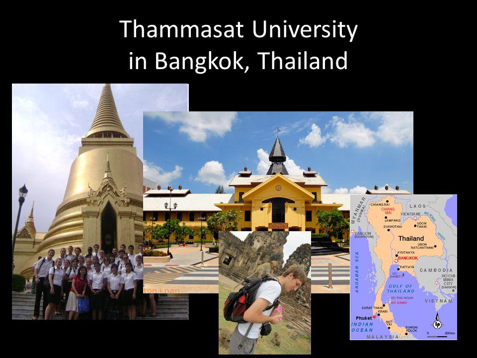 Thammasat University in Bangkok, Thailand