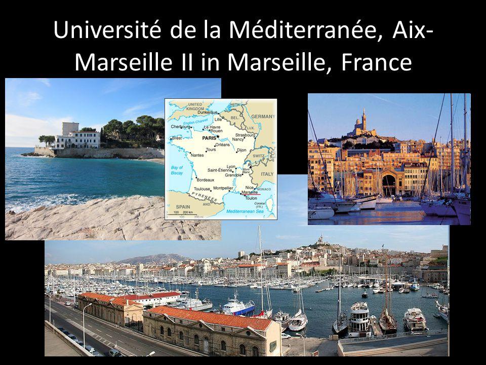 Université de la Méditerranée, Aix- Marseille II in Marseille, France