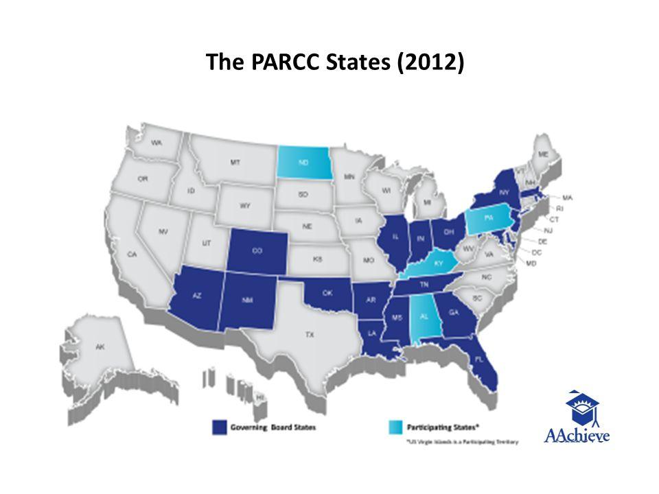 The PARCC States (2012)