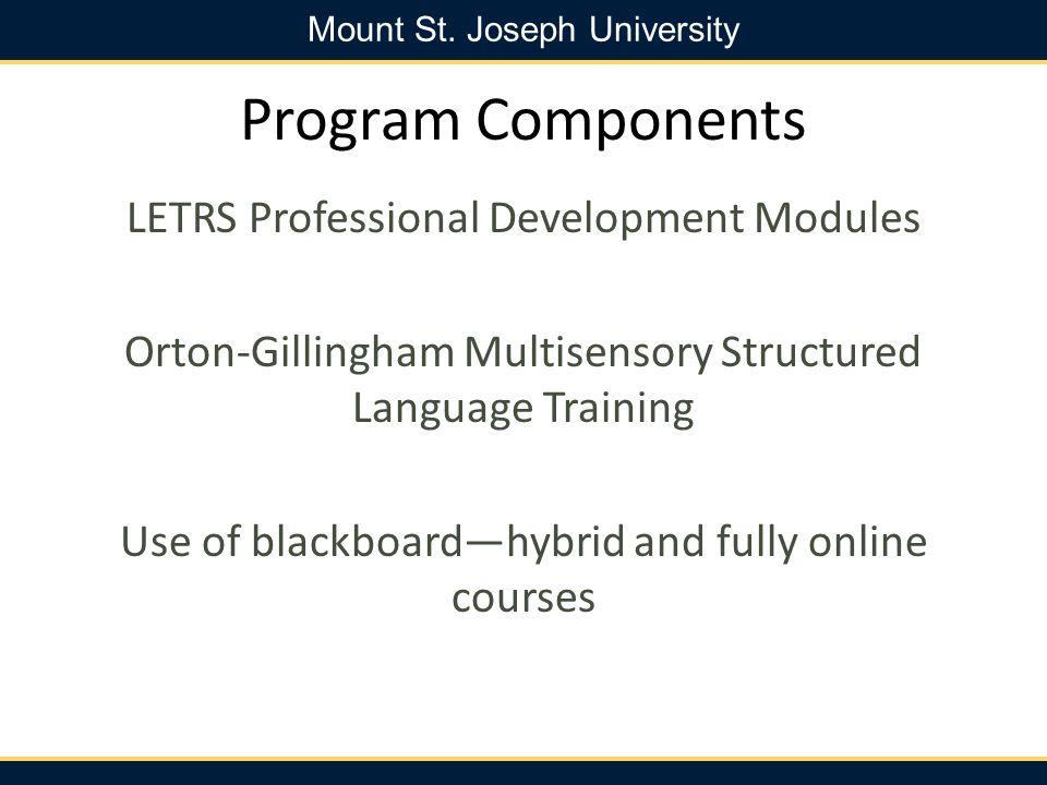 Mount St.Joseph University MSJU Faculty Dr. Amy Murdoch -Ph.D.