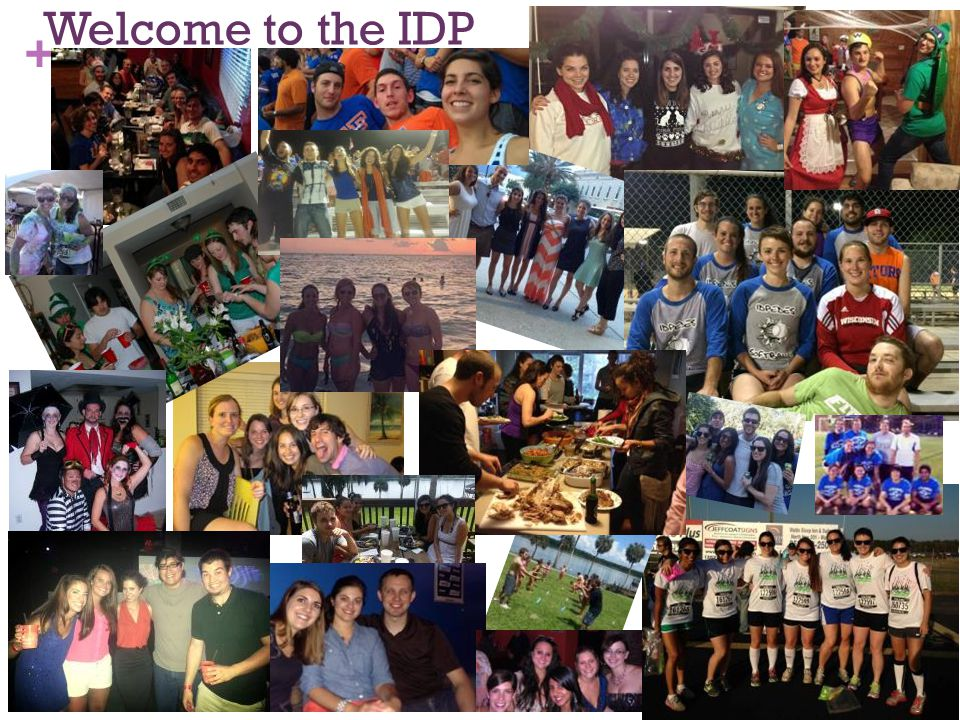 + Welcome to the IDP