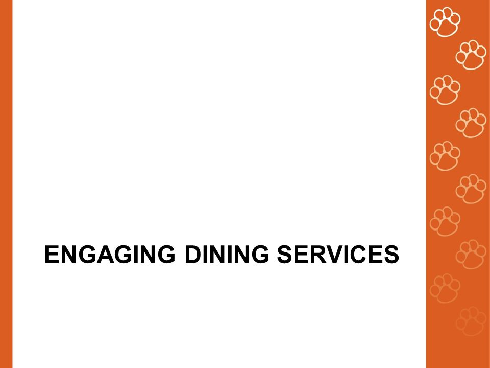 ENGAGING DINING SERVICES