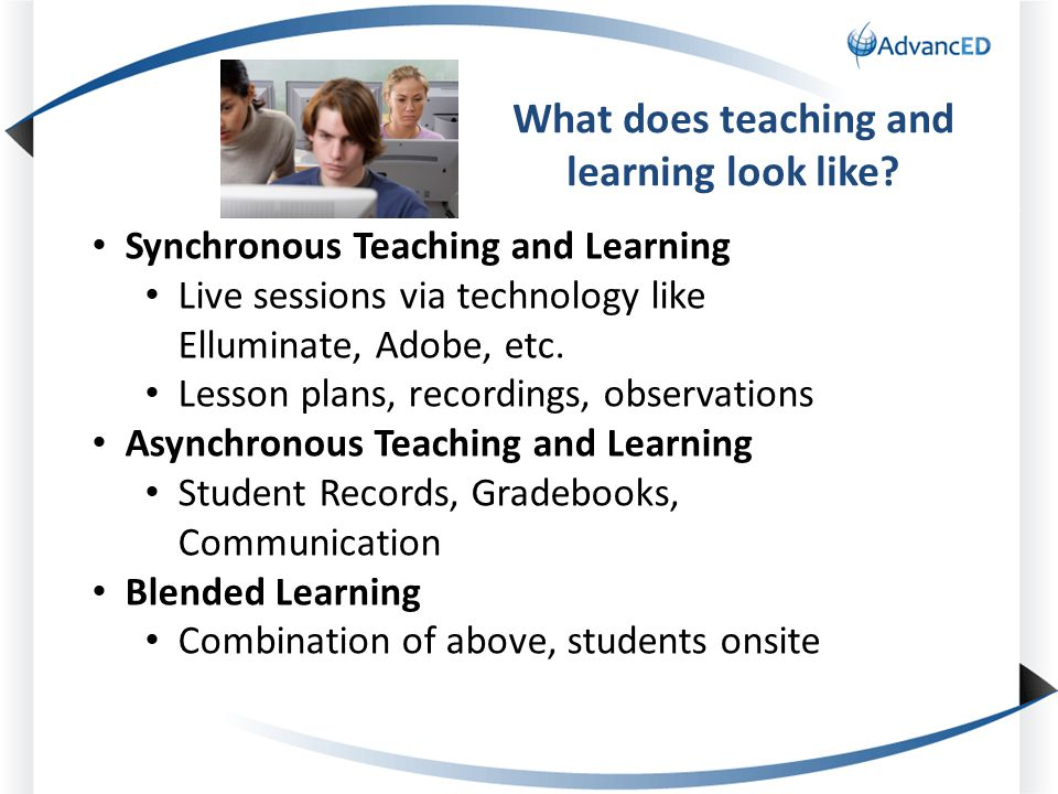 What does teaching and learning look like.