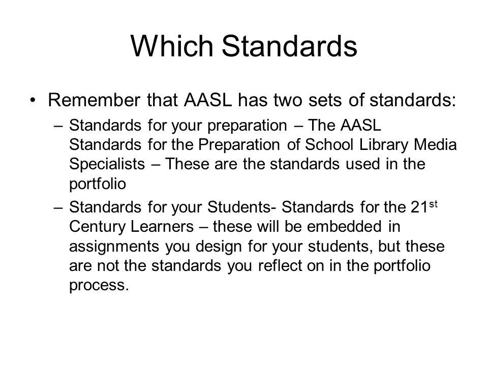 Signature/Key Assessment The school library media program has eight signature assessments.