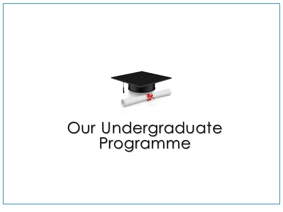 Our Undergraduate Programme