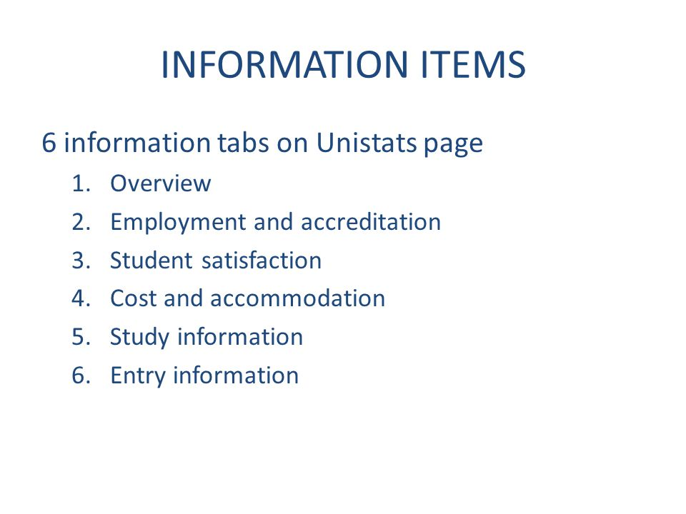 Links and error checklist