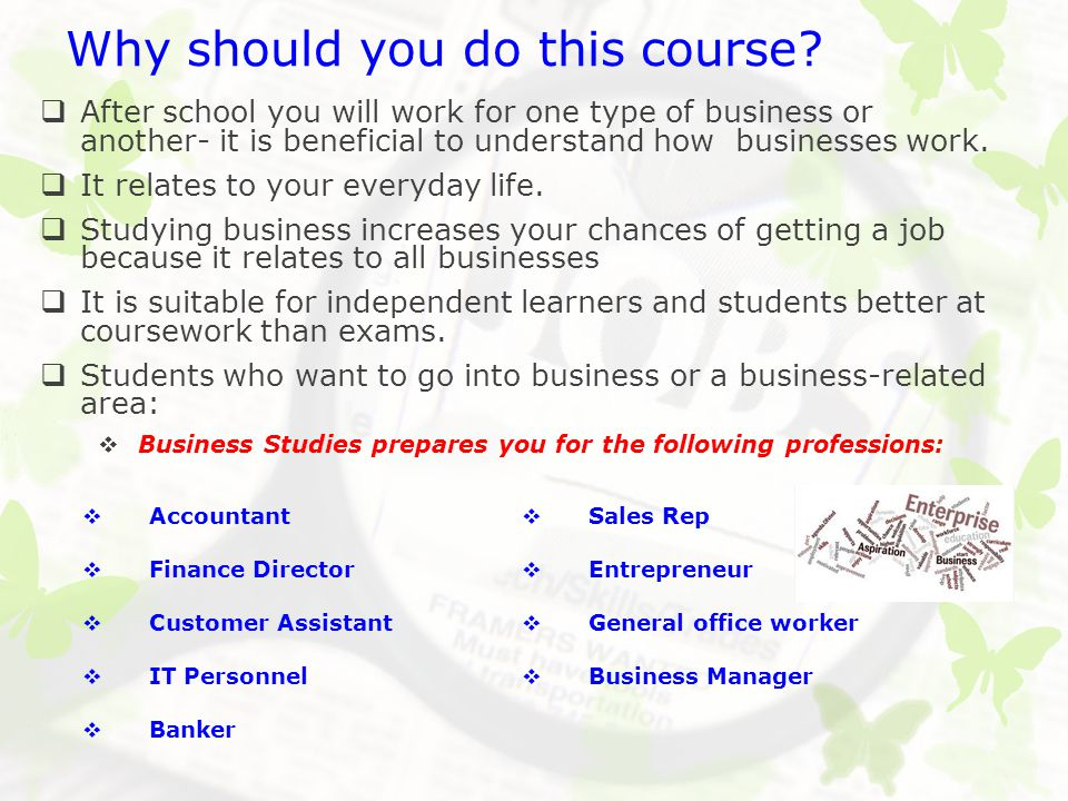 Why should you do this course.