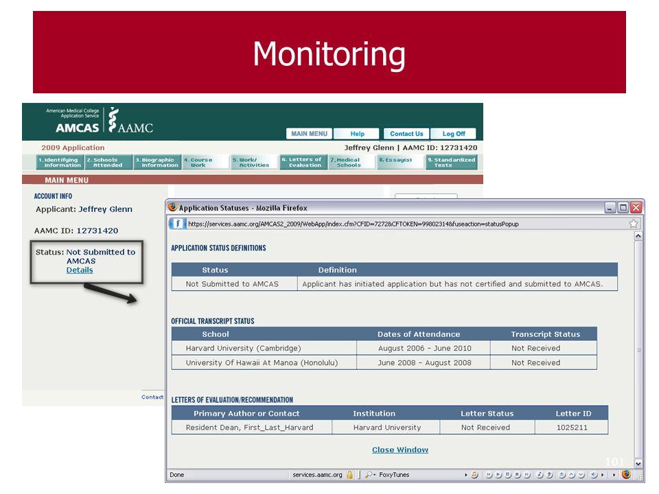Monitoring 101