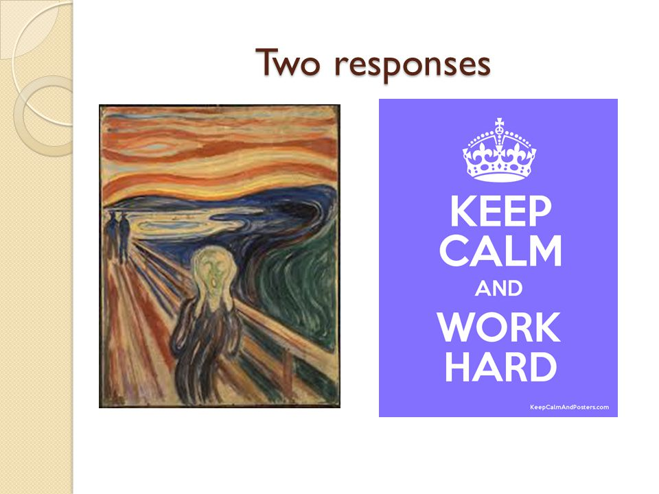 Two responses