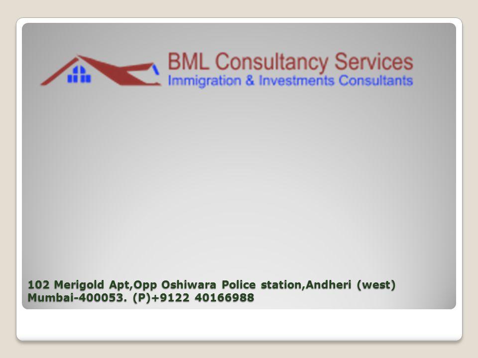102 Merigold Apt,Opp Oshiwara Police station,Andheri (west) Mumbai-400053. (P)+9122 40166988