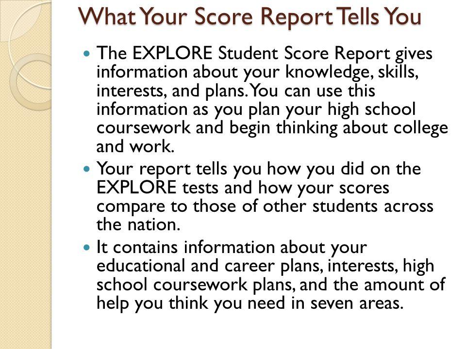 Sample Score Sheet