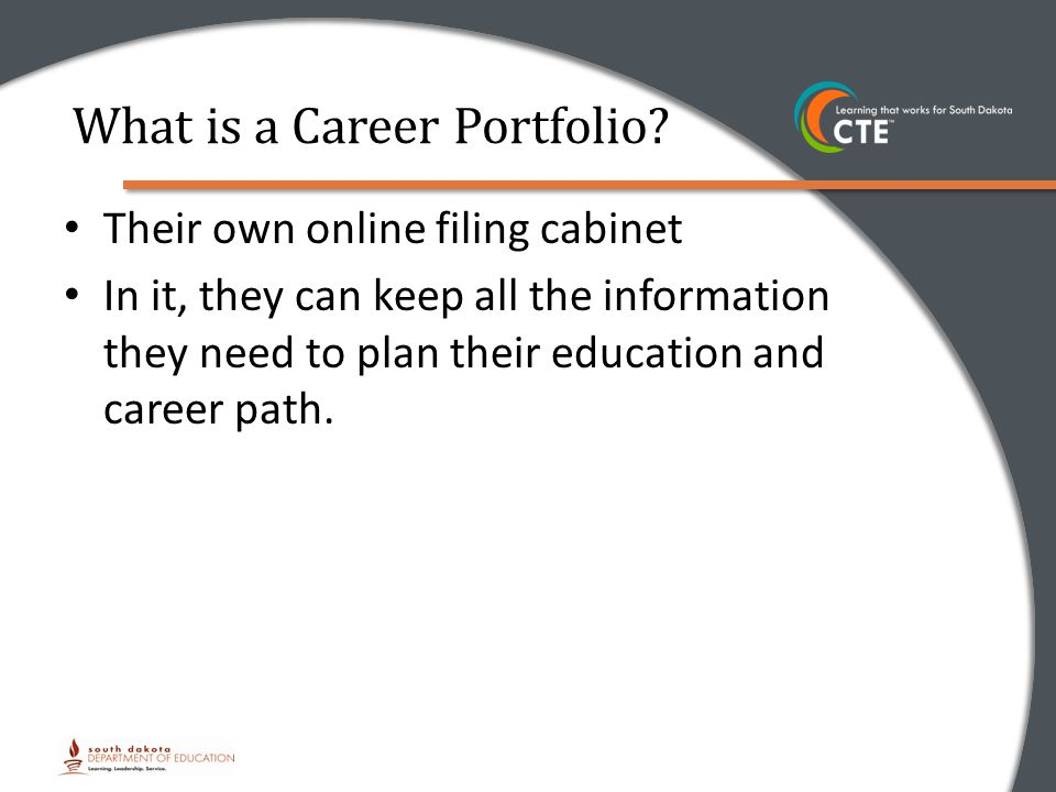 What is a Career Portfolio.