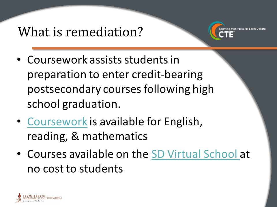 What is remediation.