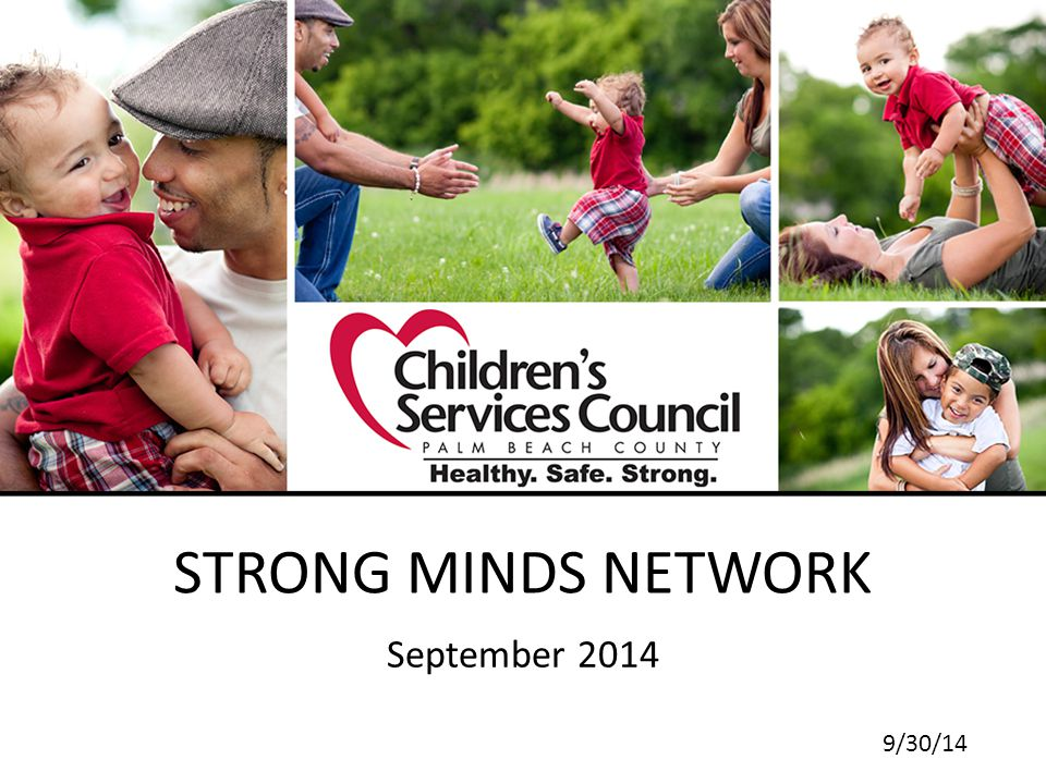 STRONG MINDS NETWORK September 2014 9/30/14