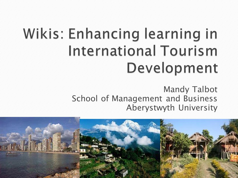 Mandy Talbot School of Management and Business Aberystwyth University
