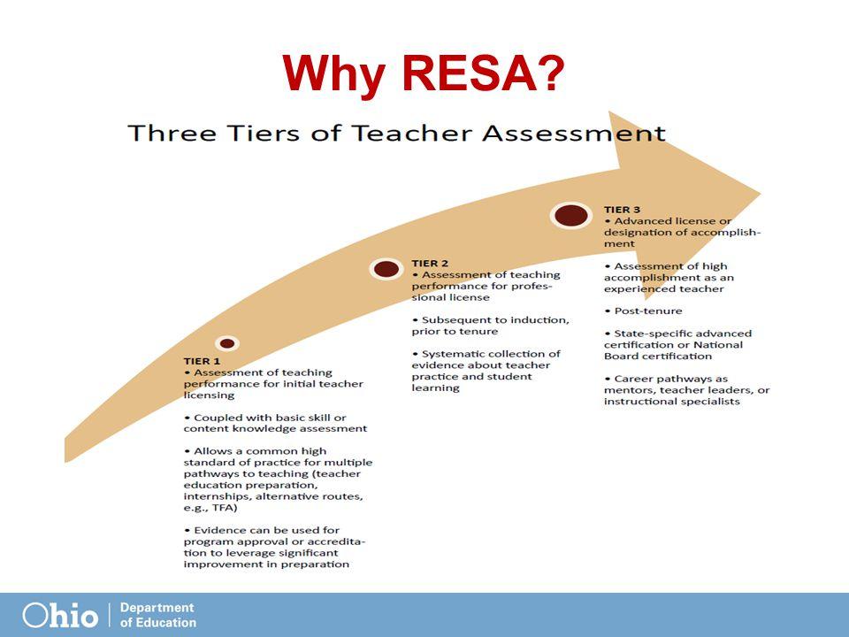 Why RESA