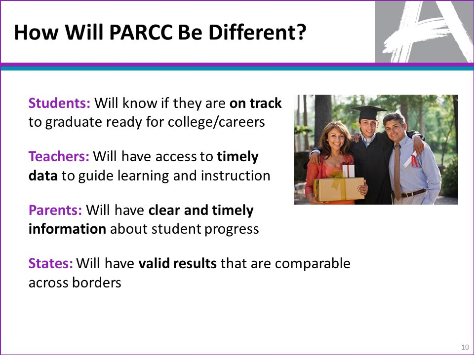 How Will PARCC Be Different.