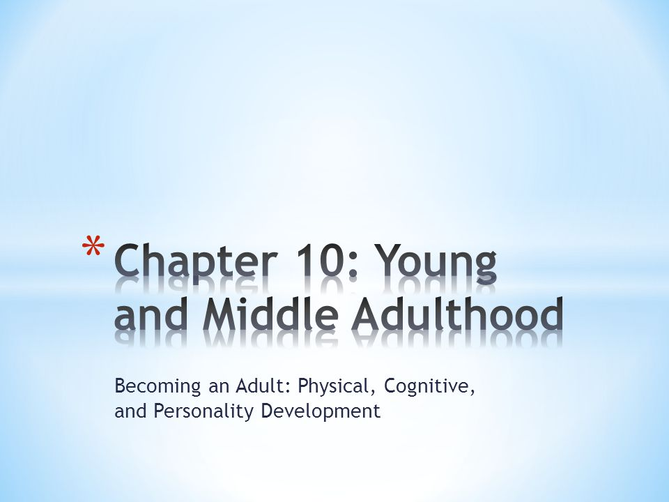 * What role transitions mark entry into adulthood in Western societies.