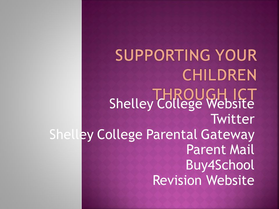Shelley College Website Twitter Shelley College Parental Gateway Parent Mail Buy4School Revision Website