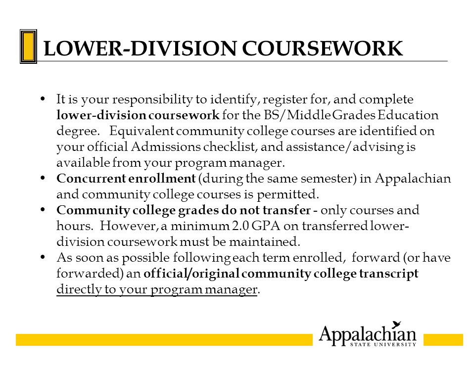 Transferable Community College courses A complete listing of community college transfer courses is available at: www.admissions.appstate.edu/process/equivalency.html Abbreviations within this guide include: HUM AREA - Will be recognized as a humanities credit S S AREA or (SS) - Will be recognized as a social science credit HUM LIT - Will be recognized as a humanities literature credit SCI AREA or (S) - Will be recognized as a science credit MAT AREA - Will be recognized as general education math requirement HUM F A or (HFA) - Will be recognized as fine art credit