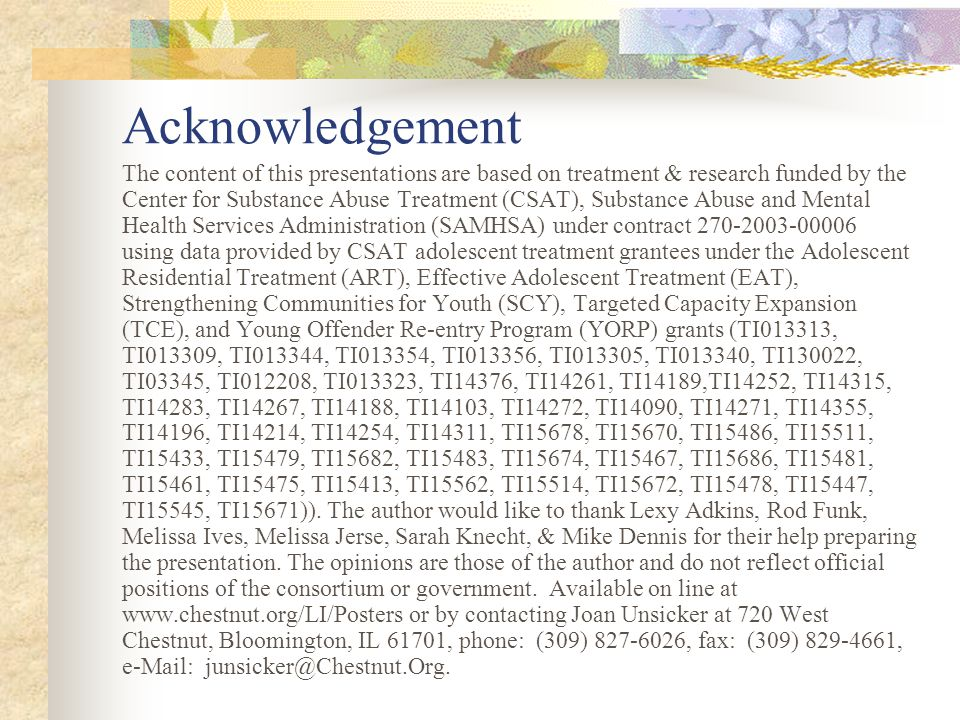 Quotes… As you know, mid way through my certification [my reviewer] was assigned another project, while that might have been an awkward time, it was not.