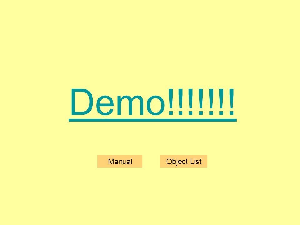 Demo!!!!!!! ManualObject List