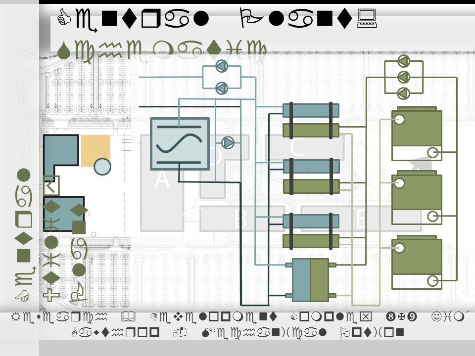 Central Plant: Schematic Central Utility Plant Research & Development Complex X Jim Gawthrop - Mechanical Option