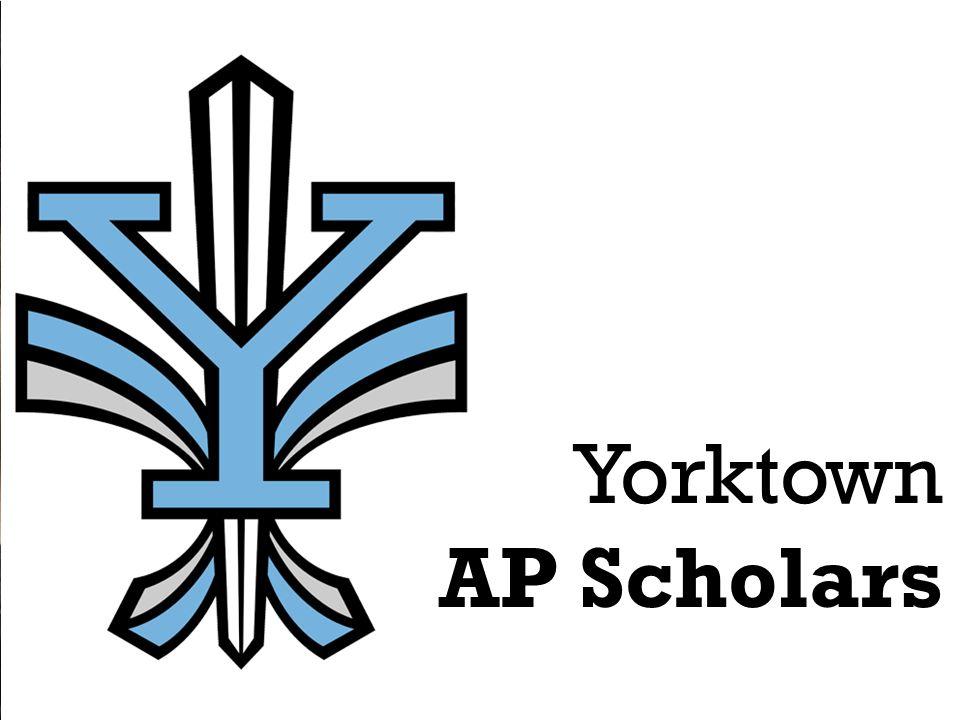 Yorktown AP Scholars
