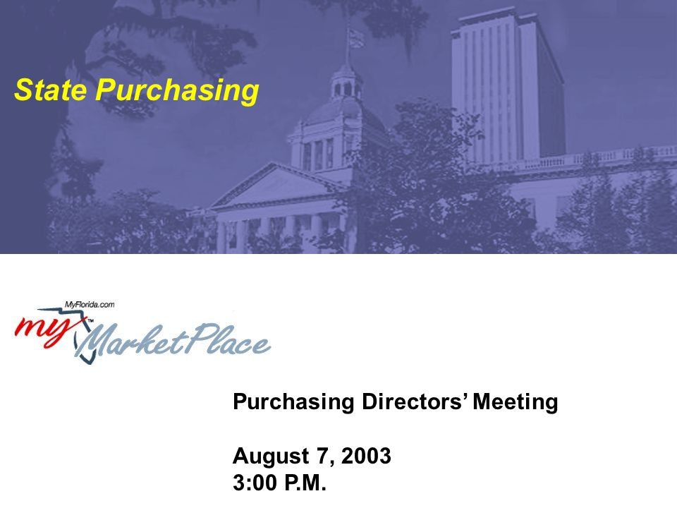 52 Purchasing Directors' Meeting Next Meeting  Time-4:30 to 5:30 p.m.