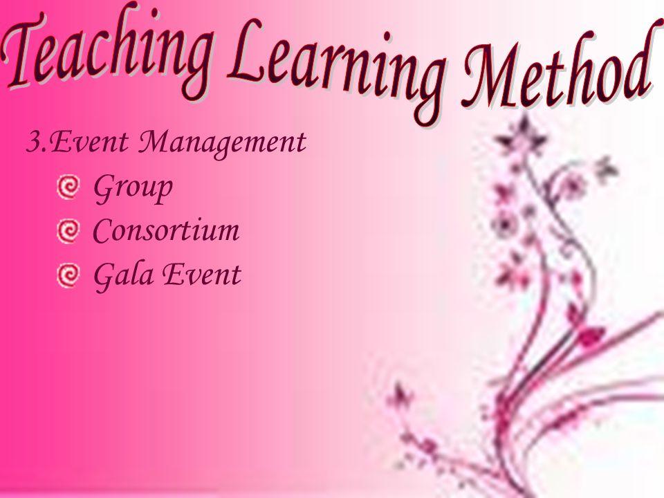 3.Event Management Group Consortium Gala Event