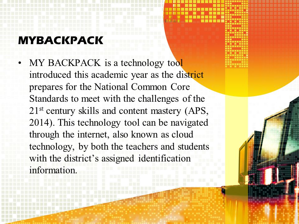 Jupiter Ed Similar to MYBACKPACK, Jupiter Ed, is a leaning information system which can be used to direct instruction, create online assessments, both formative and summative, all of which can be directly loaded to your grade book.