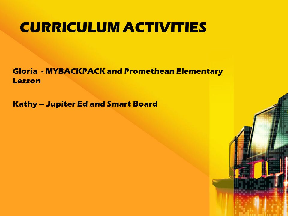 MYBACKPACK with PROMETHEAN