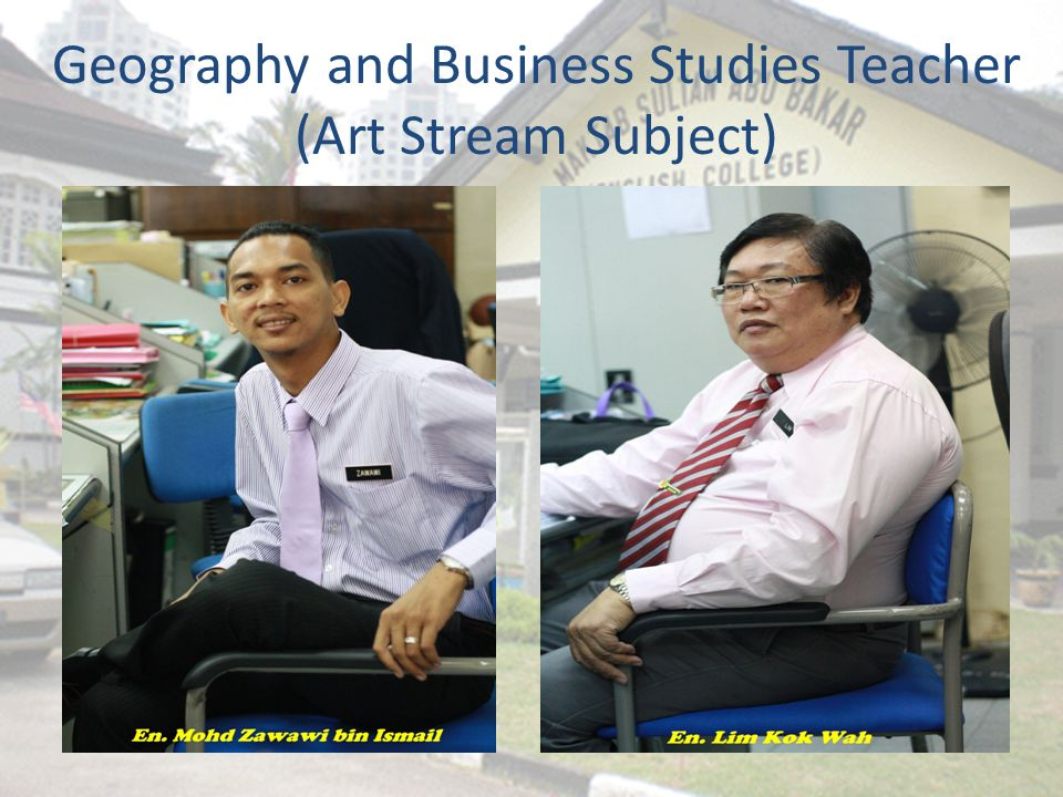 Geography and Business Studies Teacher (Art Stream Subject)