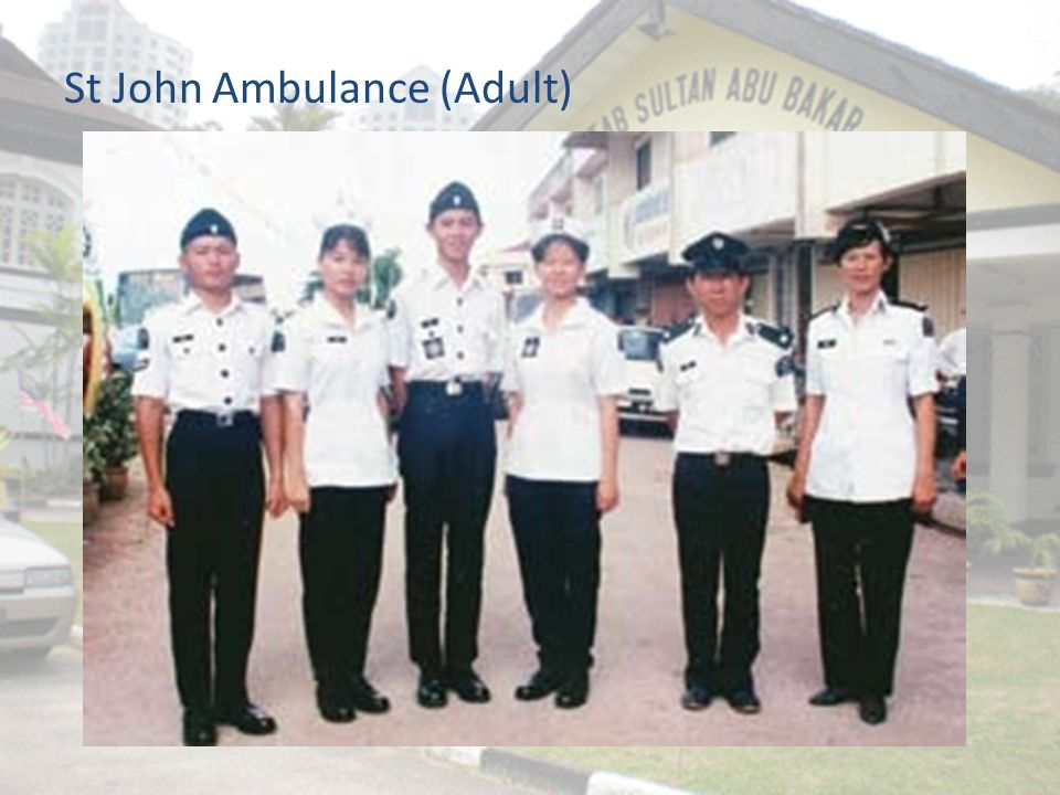 St John Ambulance (Adult)