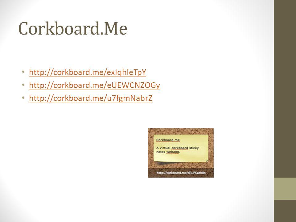 Corkboard.Me http://corkboard.me/exIqhleTpY http://corkboard.me/eUEWCNZOGy http://corkboard.me/u7fgmNabrZ