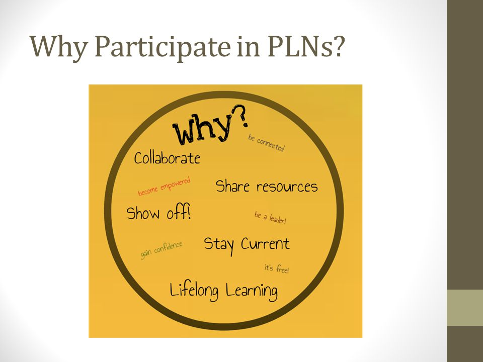 Why Participate in PLNs?
