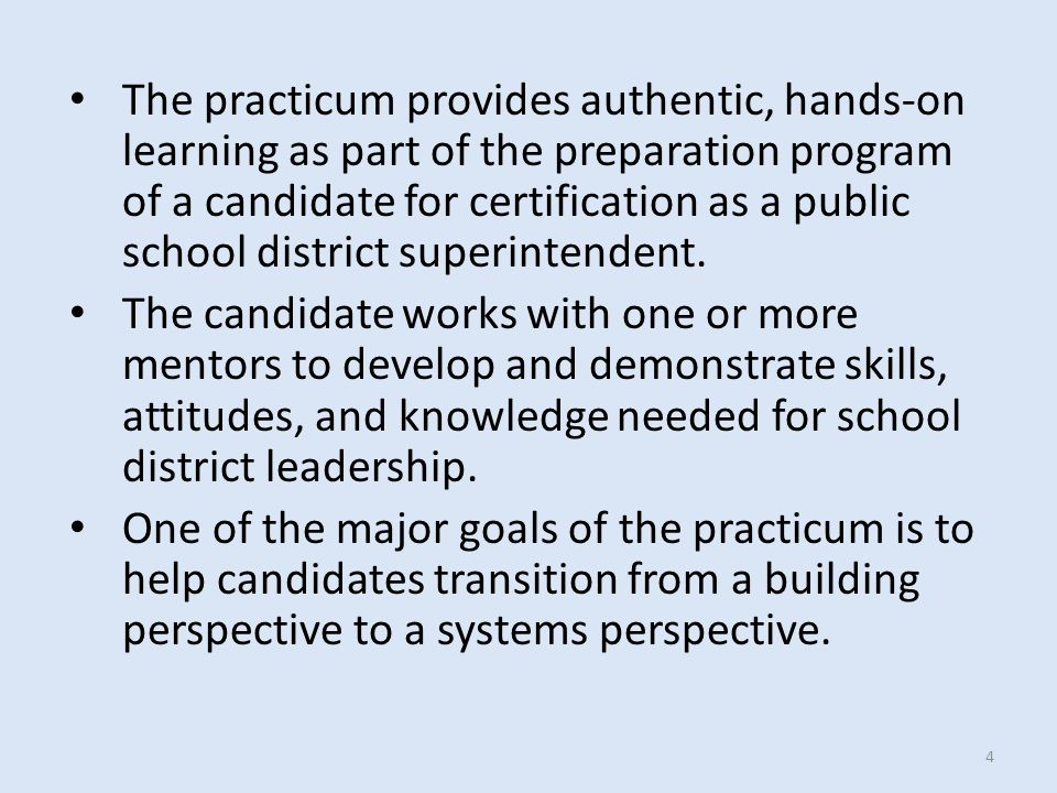 Due to the critical role the superintendent plays in school district effectiveness and student achievement, the rules adopted by the State Board for Educator Certification ensure that each candidate for the Superintendent Certificate is of the highest caliber and possesses the knowledge and skills necessary for success.