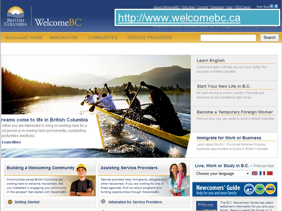 http://www.welcomebc.ca