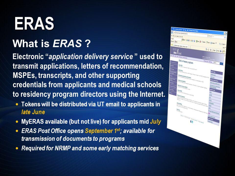 ERAS What is ERAS .